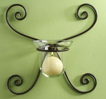 Gabrielle Wrought Iron Wall Sconce