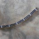 Jessica Rose 18kt Gold over Sterling Silver Tennis Bracelet