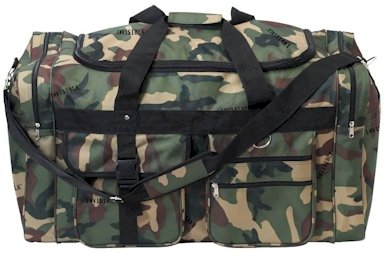 Extreme Pac With Invisible� Camo Pattern Polyester Tote Bag