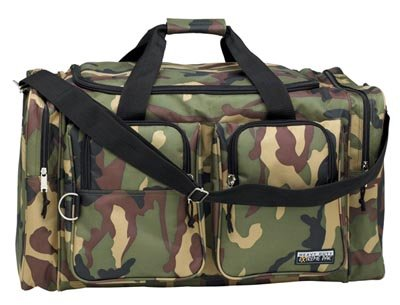 """Extreme Pak 26"""" Heavy Duty Camouflage Colored Tote Bag"""