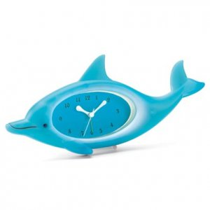 Dolphin Clock with Alarm