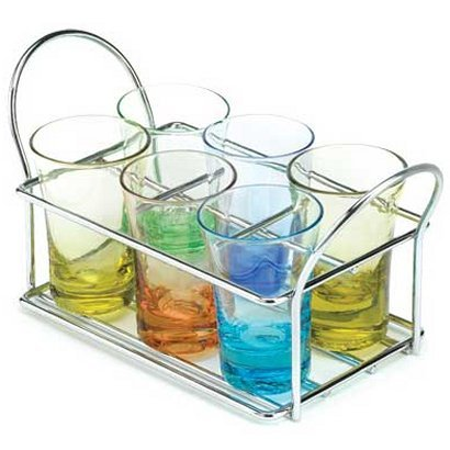 Multi-Color Shot Glass Set