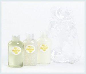 Lily Scented Mini Bath Gift Set (3 Pc.)