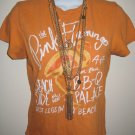 Abercrombie And Fitch Orange Top Sz Large