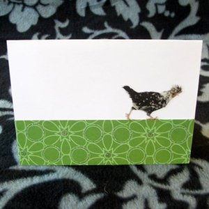 Running Chicken Everyday Card
