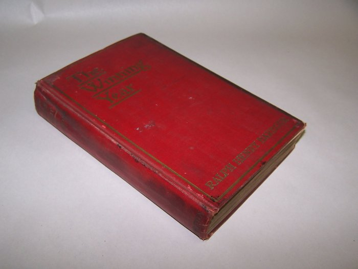 1926 The Winning year Book   By: Ralph Henry Barbour