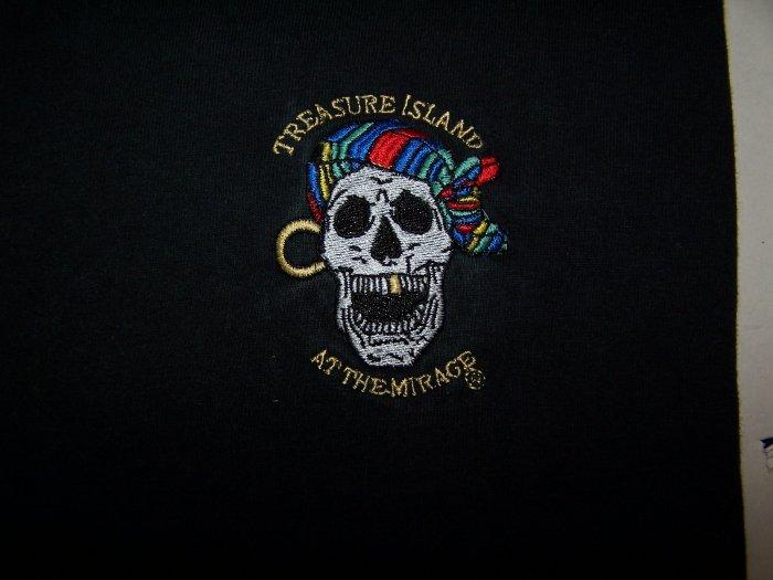 Treasure Island At the Mirage - Las Vegas Short Sleve T-shirt Medium Black