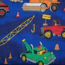 Construction Vehicals - Tow Trucks Standard Pillow Case