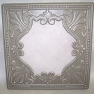 Shaby Tan Metal Wall Decoration