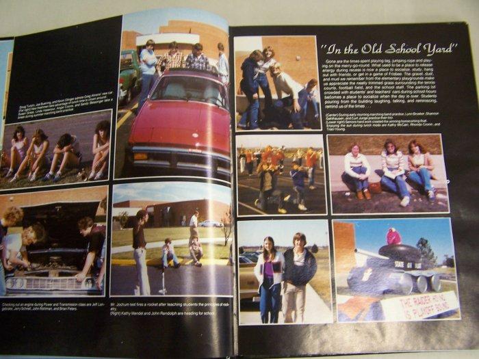 1981 Southridge High School Year Book - Huntingburg, Indiana IN