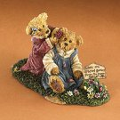 Boyds Bear 1E Bearstone Kristen and Amy First Friends 228533