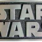 Star Wars logo belt buckle