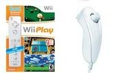 Nintendo Wii Gifts Bundle - 9 Games and Nunchuk/Remote Combo