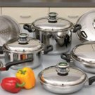 Chef's Secret 14pc 9-Element Cookware Set