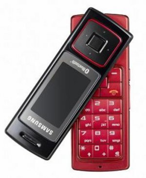 SAMSUNG F200 RED TRIBAND UNLOCKED GSM PHONE