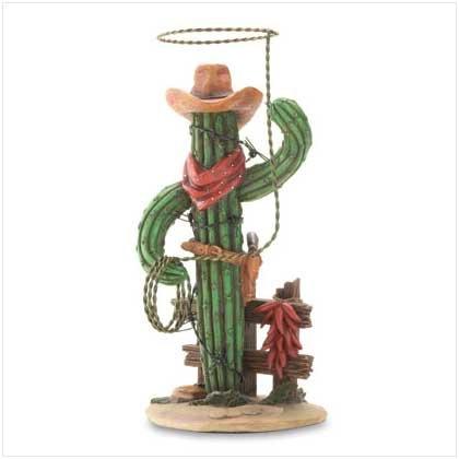 #36517 Cactus Cowboy With Lasso