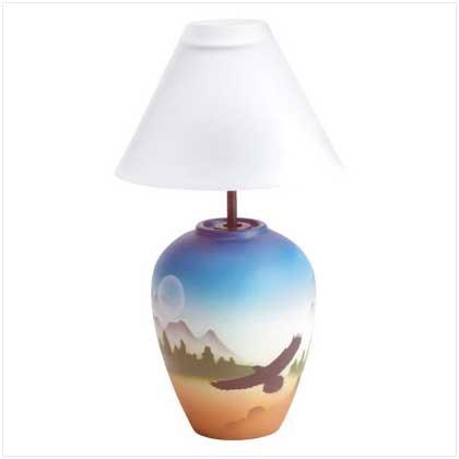 #34742 Santa Fe Candle Lamp