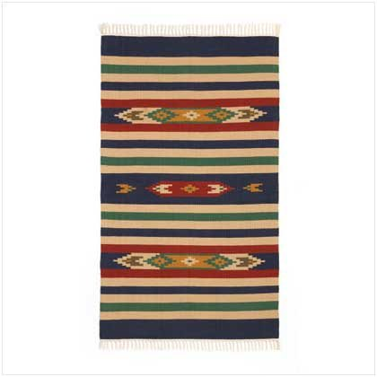 #36133 Western Cotton Cut Shuttle Rug