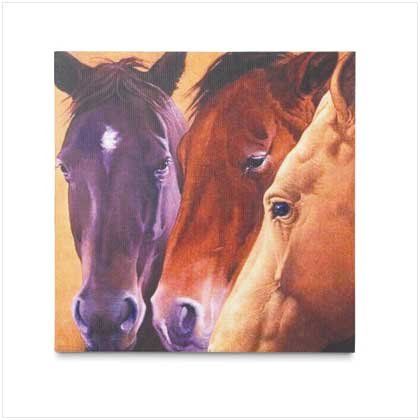 #37641 Horses Canvas Art Print