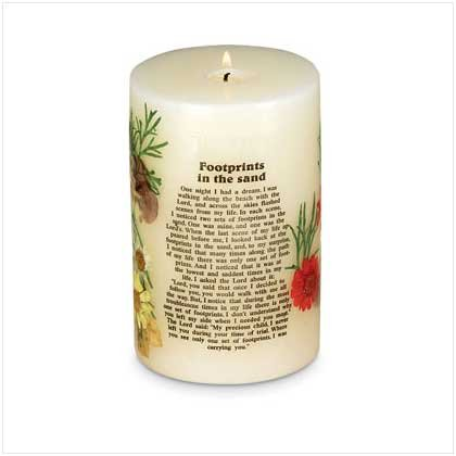 #29549 Footprints In The Sand Scented Candle