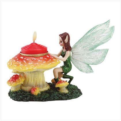 #34588 Kneeling Fairy Tealight Holder