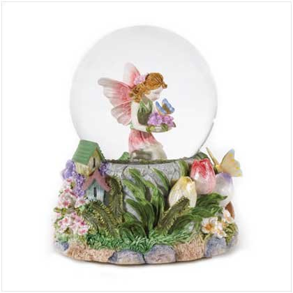 #36168 Musical Fairy Snowglobe