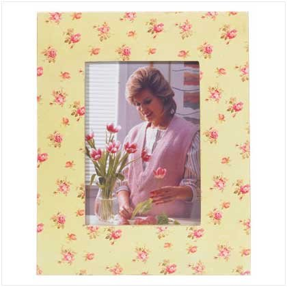 #35626 Rose Pattern Photo Frame