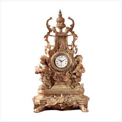 #33310 Baroque Cherub Clock
