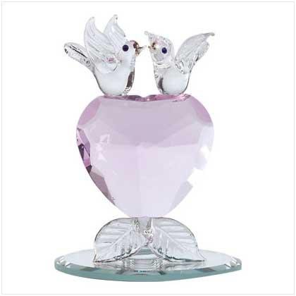 #32436 Love Birds Heart