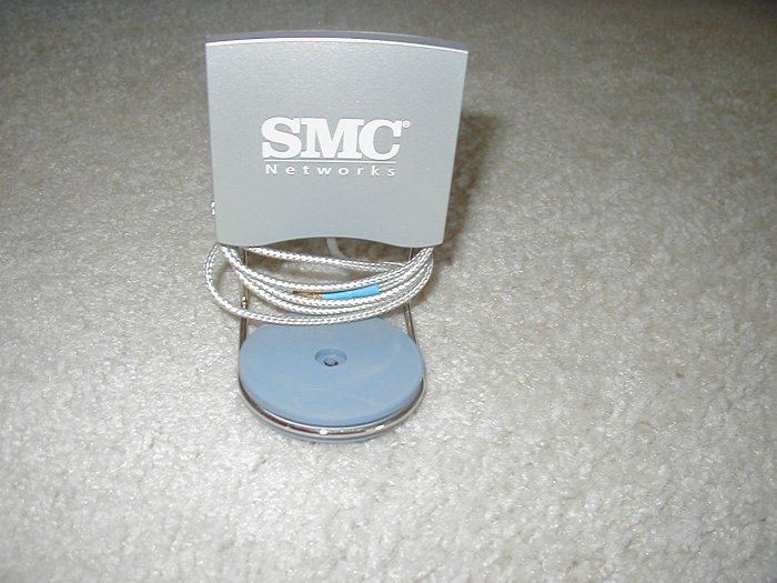 SMC EZ Connect 2.4GHZ 6DBI Antenna Directional Indoor w/ 100cm Cable SMA Connection - SMCHMANT-6