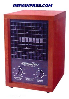 Air Ionic Purifier LightningAir Air Sanitizer
