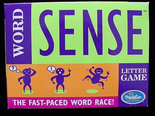 Thinkfun Wordsense Award Winning Educational Game New