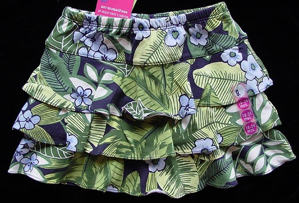 Gymboree Costa Rica Skirt 18-24 M New