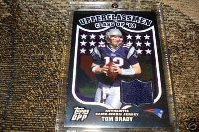 ]Tom Brady] 2007 Topps Draft Picks And Prospects Upperclassmen Jersey Silver  (GU Jersey, 28/50)