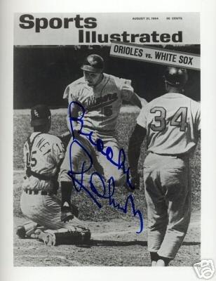 Brooks Robinson (Baltimore Oriels/HOF!) Autographed 8x10 w/ C.O.A. (MLB)