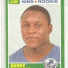 [Barry Sanders] 1989 Score #257  (RC) Free S&H!