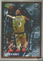 [Kobe Bryant] 1996-97 Finest #74  B (RC!) Free S&H!
