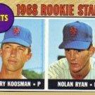 [Nolan Ryan] 1968 Topps #177 (RC !) Mint!