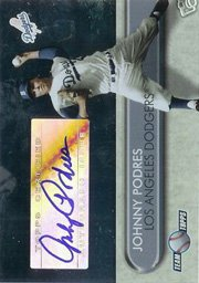 2006 Topps Team Topps Autographs JP Johnny Podres BV: $15.00