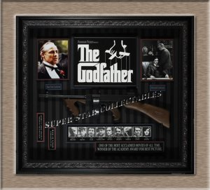 Godfather Autographed Shadow Box