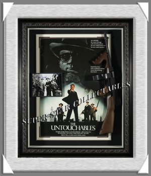 The Untouchables Autographed Shadow Box