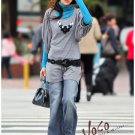 2Peice Sweater Free Size (Blue with Gray)