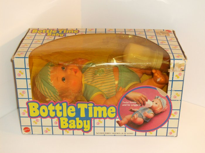Bottle Time Baby Boy 1984