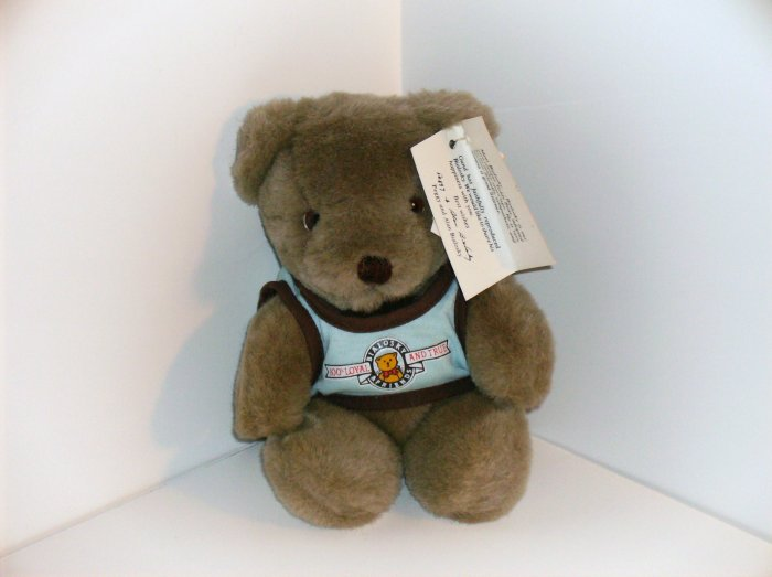 Bialosky Gray Gund Teddy Bear 1982-1984