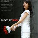 Tiered low-waist shift dress - white