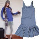 D12-Smart street dress - Dark grey
