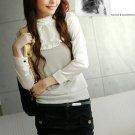 T42-Mock 2-pc blouse