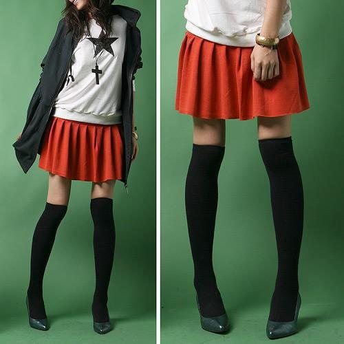 A4-Slim-legs Elastic Long Socks