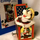 Disney's Mickey Mouse Holiday Christmas doll Jack In The Box Musical