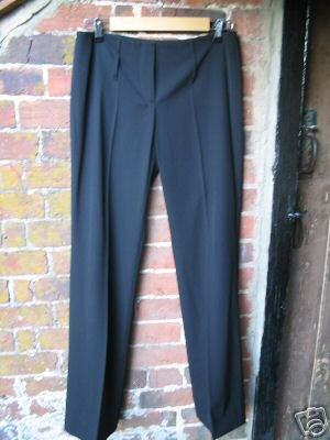 Prada trousers - black, wool